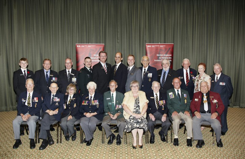 VAC Commendation Group Photo