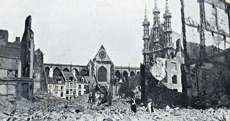 Leuven destruction