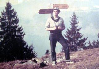 Copy of Tom Douglas Swiss Alps 1962